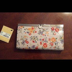 Patricia Nash Cauchy mini meadow print wallet